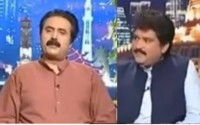 Aftab Iqbal Insulting Hamid Mir in his Show