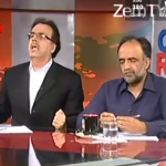Please Behave Dr Shahid Masood Said Qmar Zaman Qaira