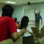 Teacher Throws A Duster At Student