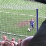 Cutest Kid Scores a Goal