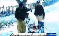 Pakistani Police Crack Down Against Beggars