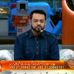 Geo's Hypocrisy Exposed by Live Caller on Amir Liaqat Show