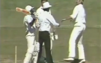 Javed Miandad and Dennis Lillee Fight in Cricket Match