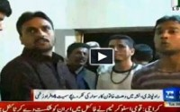 Woman injured four people while driving drunk in Islamabad.