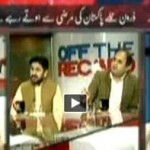Off The Record - 24th Oct 2013 - Pakistan Signed Secret 'Protocol' Allowing Drones