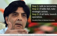 Nisar outlines 'three-step' approach to terror threat