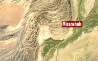 Exclamation Funeral held for those killed in Army shelling of Mir Ali ,NWA 53 killed