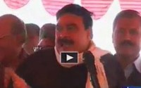 """PMLN real symbol is """"Geedar"""", they brought Lion from the circus - Sheikh Rasheed"""
