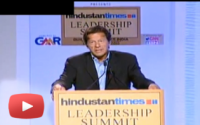 Imran Khan speaks at Hindustan leadership summit