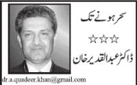 ISI Inserted Secret Voice Recorders In Beds of My Daughter And Grand Daughter:- Dr AbdulQadeer Khan