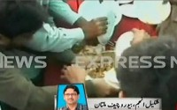 PML Q Workers Attack on Food in Workers Convention Multan