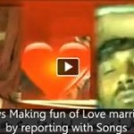 Dunya News Making fun of Love marriage couple by reporting with Songs
