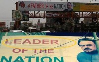 LOL : Father of the Nation becomes Leader of the Nation (Overnight) ....':D
