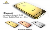 Goldgenie Now Taking Pre-orders for 24ct Gold iPhone 6 Range with Lifetime Warranty